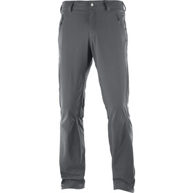 Salomon Wayfarer Straight LT Pants Men forged iron